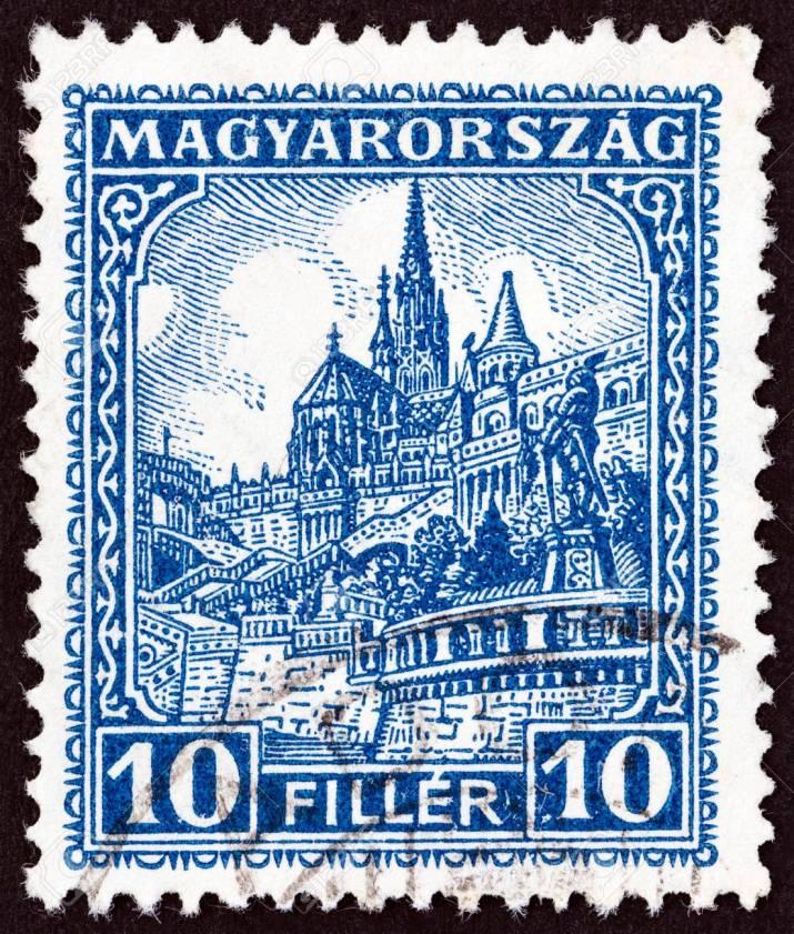 44538849-hungary-circa-1926-a-stamp-printed-in-hungary-shows-matthias-church-and-fisherman-s-bastion-circa-19